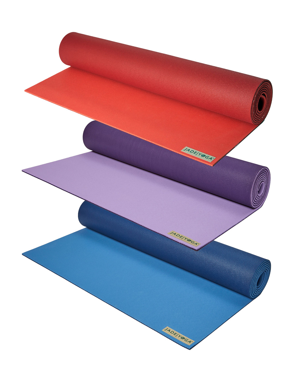 New Two Tone Yoga Mats Jadeyoga Canada