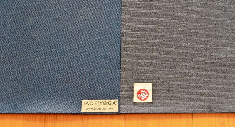 Jade Vs Manduka Yoga Mat Throwdown Jadeyoga Canada