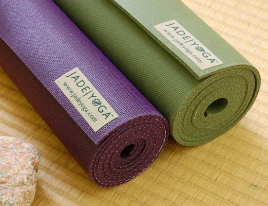 yogamatte jade